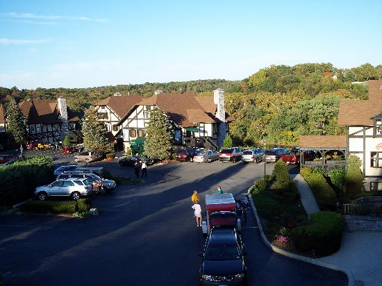 Bavarian Inn: view from room 88