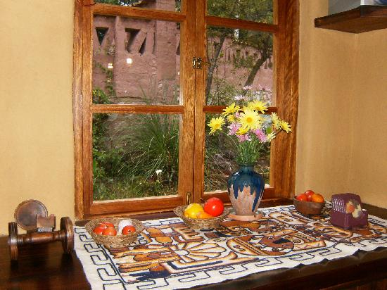 Kuychi Rumi: The window in our dining room