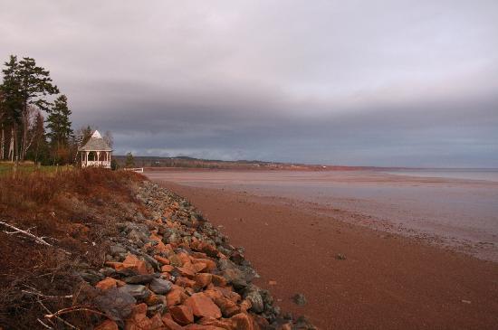 Four Seasons Retreat : The beach (looks like low tide)