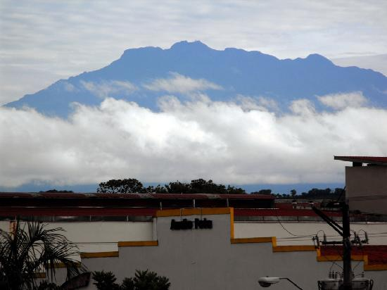 Baru volcano from Hotel Occidental
