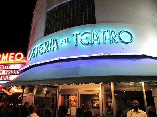 Osteria del Teatro: Osteria front