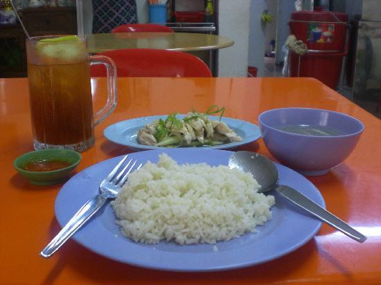 Fook Seng GoldenHill Chicken Rice : Yummy chicken rice