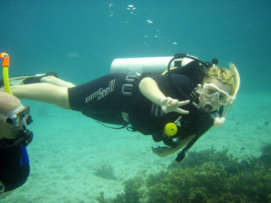 Thailand Divers - Phuket Scuba Diving: first dive!!