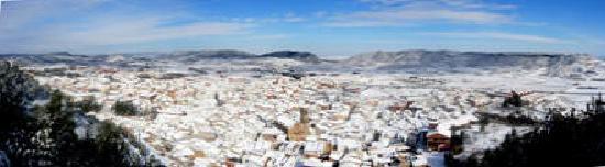 Андорра-ла-Велья, Андорра: vista de andorra de teruel nevada