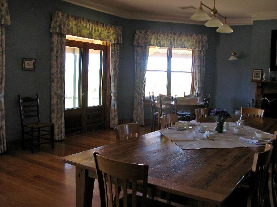 Lyndoch, Australia: the dining room