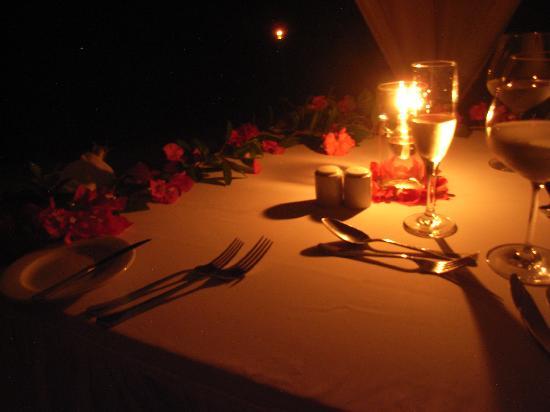 our candlelight dinner table picture of komandoo maldives island rh tripadvisor com