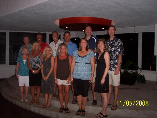 Marival Resort & Suites: Our Gang at the M&M