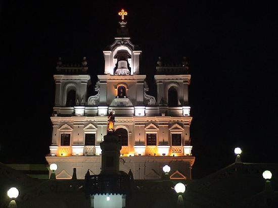 One of the most famous churches in Goa