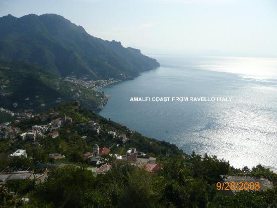 Cumpa' Cosimo : AMALFI COAST FROM BELVEDERE OUTLOOK REVELLO ITALY
