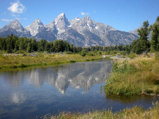 Wyoming: Schwabachers Landing & Grand Tetons