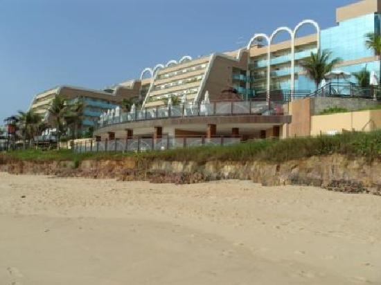 SERHS Natal Grand Hotel: Hotel from the beach