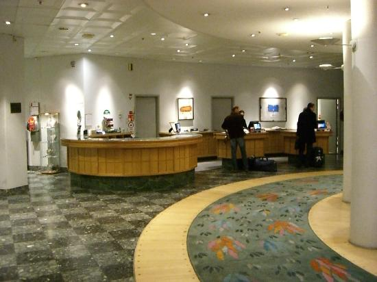 Radisson Blu Hotel, Malmo: Reception
