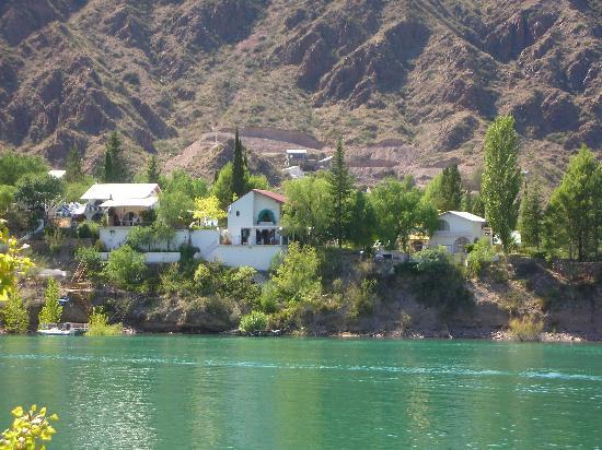 San Rafael, Argentina: Mi casa en el lago