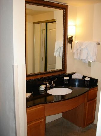 Homewood Suites by Hilton Fairfield - Napa Valley Area : Bathroom Counter / Sink
