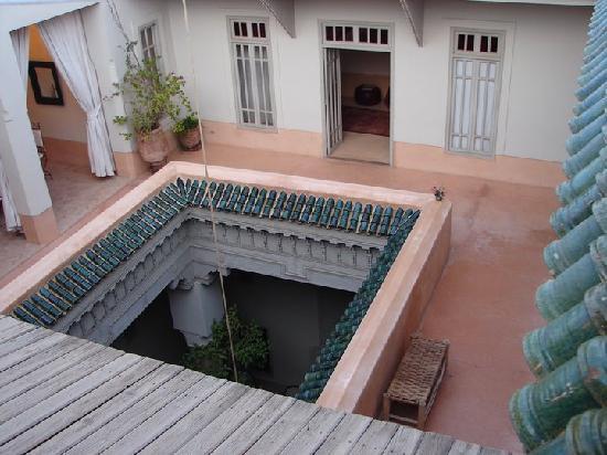 Dar Lalla F'dila : Le patio