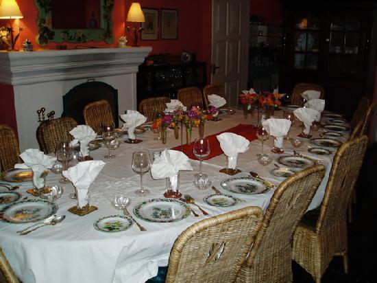 Dining Table Set For Dinner Picture Of Glenburn Tea Estate