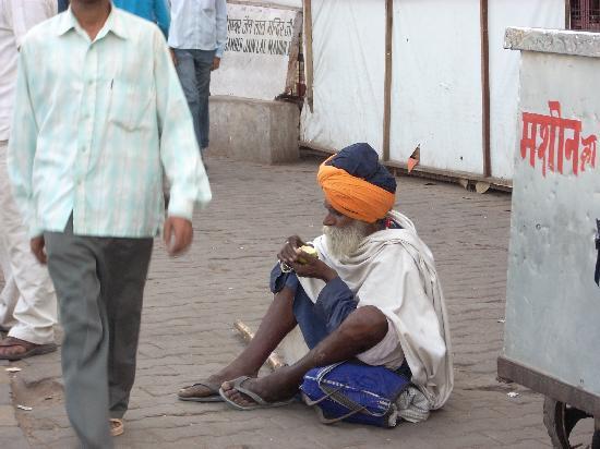 New Delhi, India: man in delhi