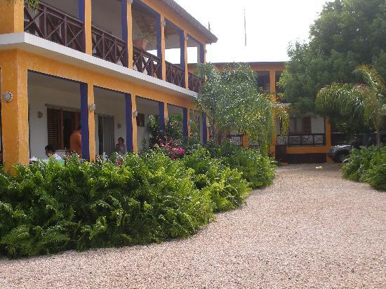 Hostal Casa Culebra: Vista de los cuartos
