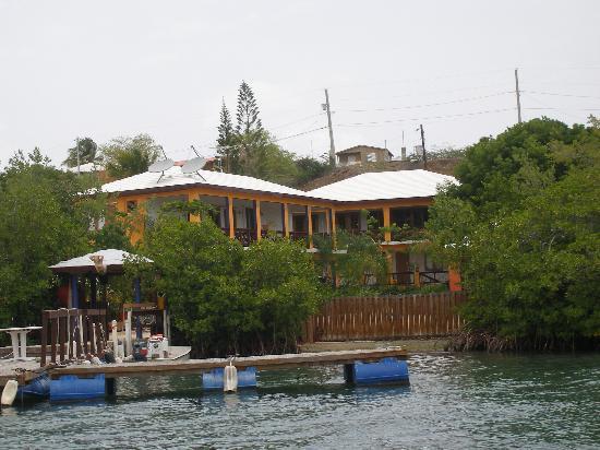 Hostal Casa Culebra: Vista desde la bahia