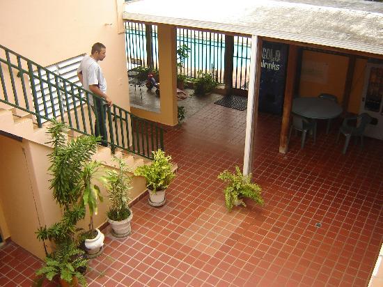 El Patio Guest House: Patio