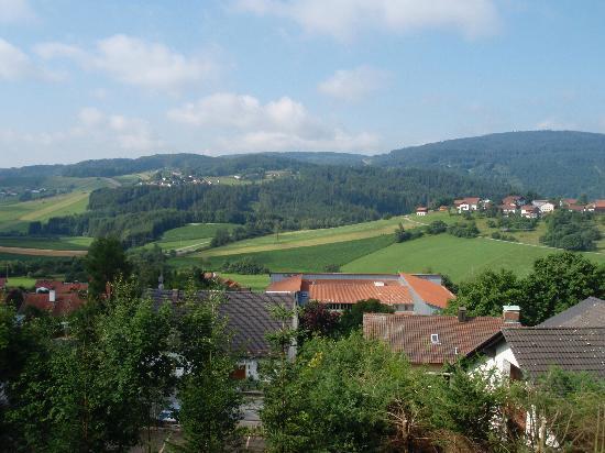 Schoenberg, Germania: Die Aussicht von unserem Balkon