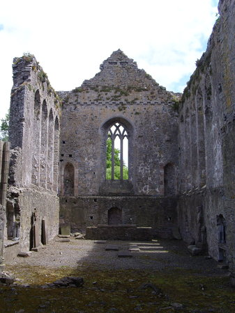 Athassel Priory: Nave at Athassal