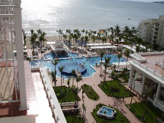 Hotel Riu Palace Pacifico: view from 7th floor