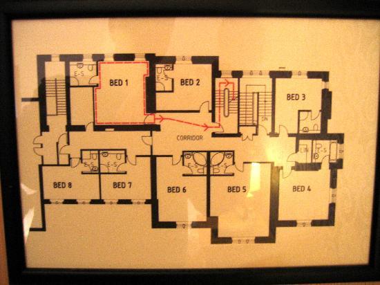 The Florentine: Floor Plan