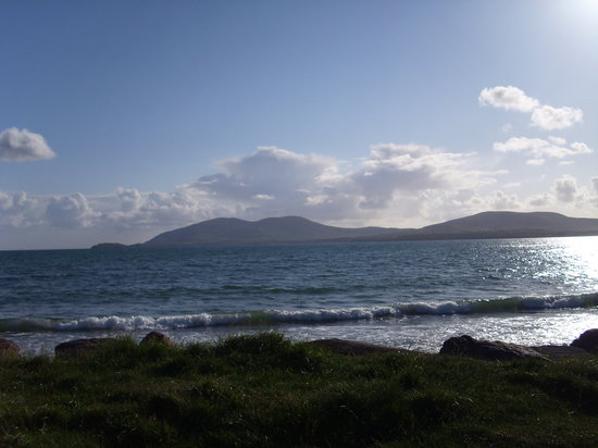 Waterville, Irlandia: View from Smugglers Inn