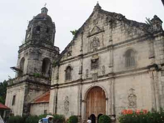 Argao, Philippinen: A baroque-rococo church constructed in 1733 by the spaniards