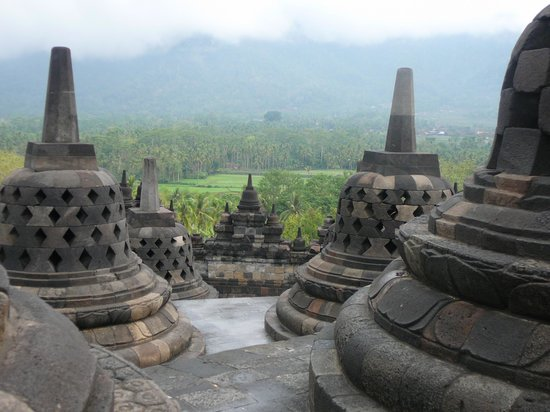 Borobudur Temple: Borobodur Buddhist Temple Java