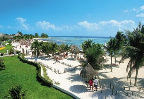 Sandos Caracol Eco Resort: beach view- gorgeous!