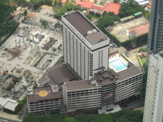 Concorde Hotel Kuala Lumpur Taken From The Telephone Tower