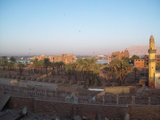 Nefertiti Hotel: The view from the terrace