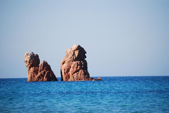 Tortoli, Italia: Strand von Cea