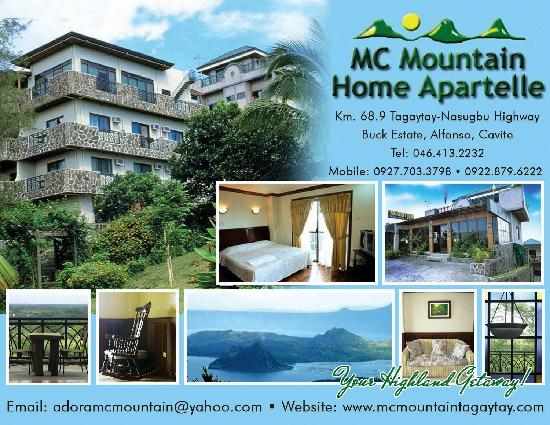 mc home mountain apartelle as sen from the back depot fort