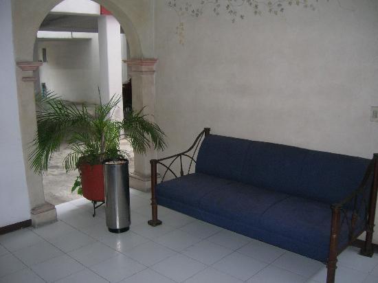 Hotel Parador Crespo : Area relax