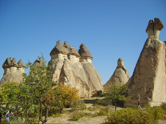 Nevsehir, Tyrkiet: Fairy Chimneys