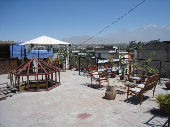 Terrace roof (La Posada del Cacique, Arequipa)