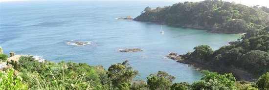 Waiheke Island, Neuseeland: Panorama Enclosure Bay area