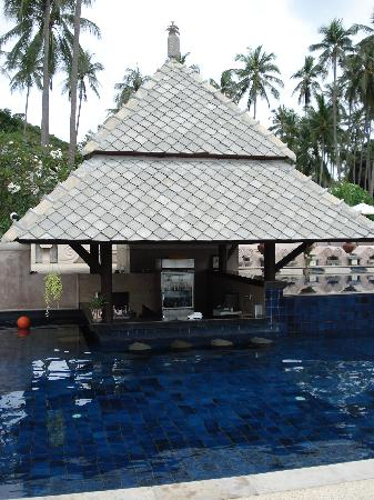 Fair House Villas & Spa: Swim up bar