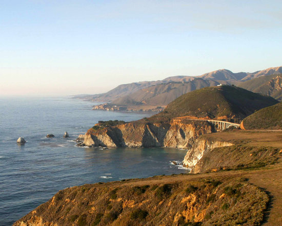 Plaża Big Sur, Kalifornia: Bixby Bridge