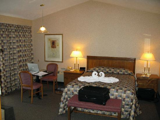 Skaneateles Suites: Bland and basic on the inside