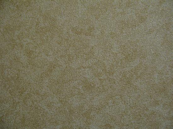 Skaneateles Suites: Nondescript vinyl wallpaper