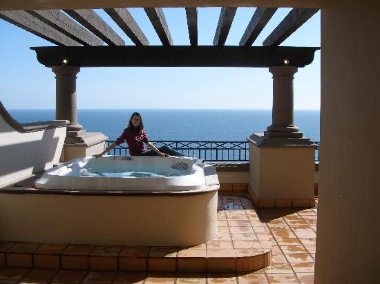 Pueblo Bonito Sunset Beach Golf Spa Resort Private Hot Tub On Balcony Super Executive Suite