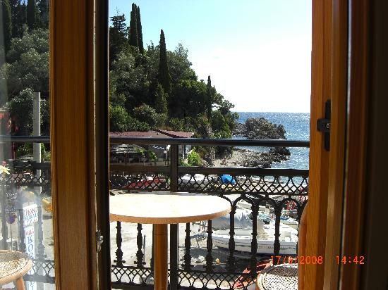 Villa Coralli Hotel: view from our balcony