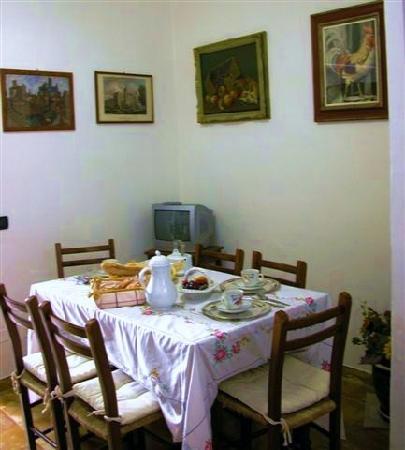 Siena B&B Hospitality: Qui servivano la colazione