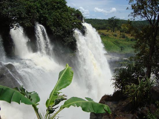 Repubblica Centrafricana: les chutes de boali 2008