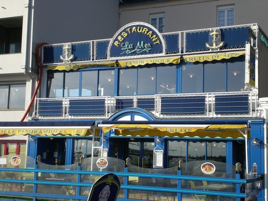 Granville, Francia: Restaurant de la Mer