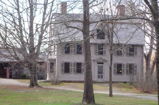 Concord, MA: The Old Manse front view